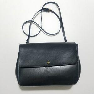 Aritzia crossbody Dalen Auxiliary black leather